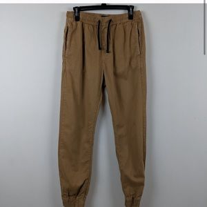 Khaki Joggers from American Eagle